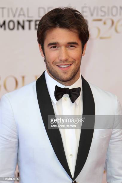 Joshua Bowman arrive at the Golden Nymph Award during the 52nd Monte Carlo TV Festival Closing Ceremony on June 14 2012 in MonteCarlo Monaco