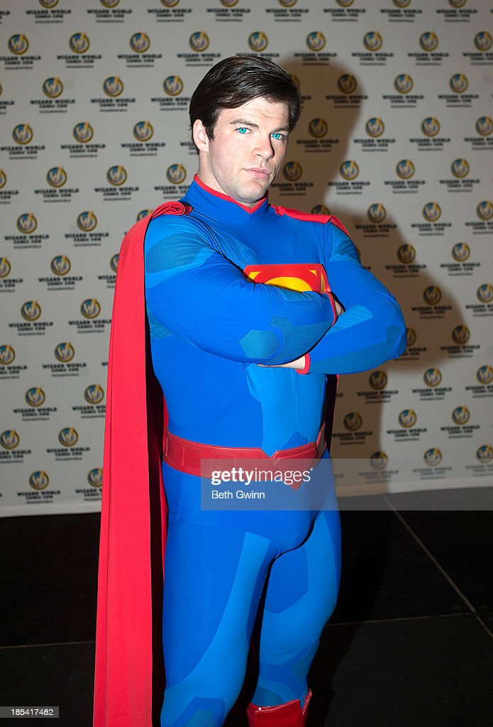 Joshua Carroll as Superman attends Nashville Comic Con 2013 at Music City Center on October 19, 2013 in Nashville, Tennessee.