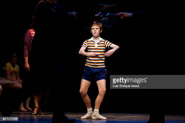 Joshua Denyer plays Billy Elliot during a media call for `Billy Elliot The Musical` at Her Majesty`s Theatre on December 30 2008 in Melbourne...