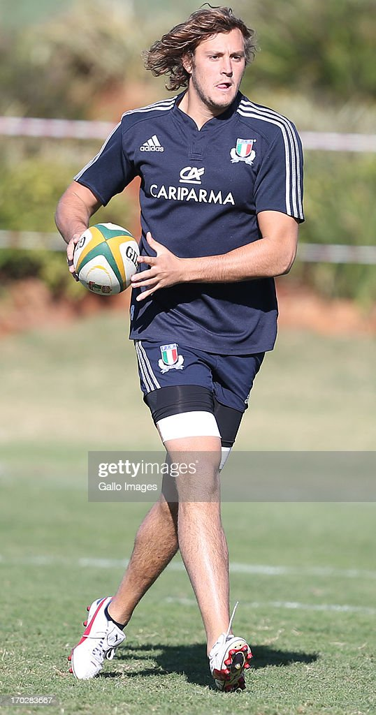 Joshua Furno of Italy during the Italy training session at Northwood School on June 10, 2013 in Durban, South Africa.