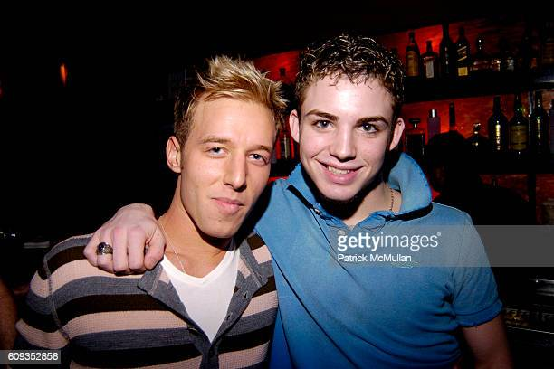 Joshua German and Brandon Propst attend MONDAY'S HARD Party Hosted By Brandon Propst Blake Pierce Dennis Copertino John Benitez at The PLUMM on...
