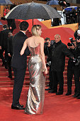Joshua Jackson and Diane Kruger at the premiere for 'Amour' during the 65th Cannes International Film Festival