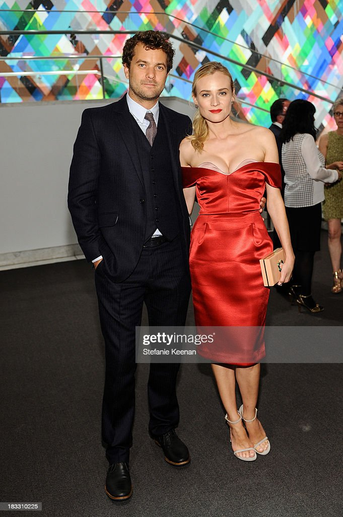 Joshua Jackson and Diane Kruger attend Hammer Museum 11th Annual Gala In The Garden With Generous Support From Bottega Veneta, October 5, 2013, Los Angeles, CA at Hammer Museum on October 5, 2013 in Westwood, California.