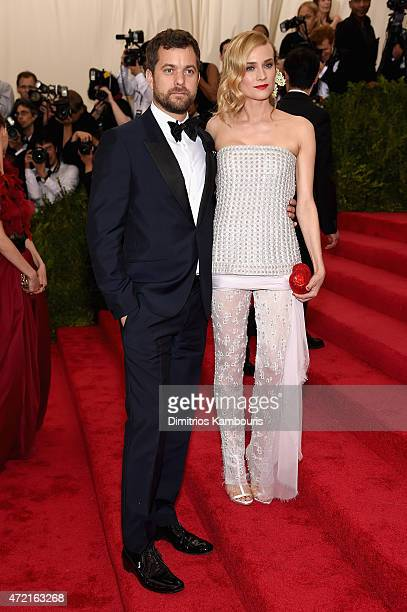 Joshua Jackson and Diane Kruger attend the 'China Through The Looking Glass' Costume Institute Benefit Gala at the Metropolitan Museum of Art on May...