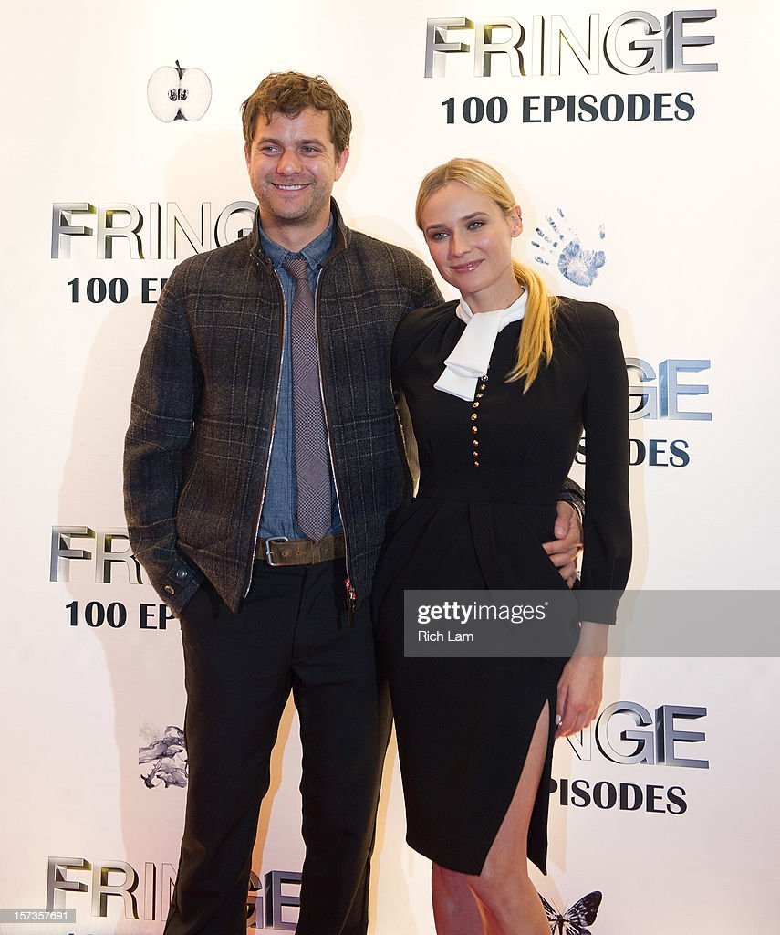 <a gi-track='captionPersonalityLinkClicked' href=/galleries/search?phrase=Joshua+Jackson+-+Actor&family=editorial&specificpeople=208160 ng-click='$event.stopPropagation()'>Joshua Jackson</a> and his girlfriend <a gi-track='captionPersonalityLinkClicked' href=/galleries/search?phrase=Diane+Kruger&family=editorial&specificpeople=202640 ng-click='$event.stopPropagation()'>Diane Kruger</a> pose for photos on the red carpet while attending 'Fringe' celebrates 100 episodes and final season at Fairmont Pacific Rim on December 1, 2012 in Vancouver, Canada.