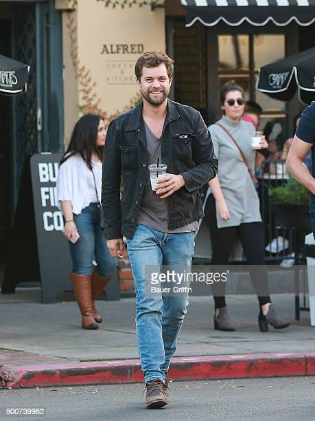 Joshua Jackson is seen on December 09 2015 in Los Angeles California