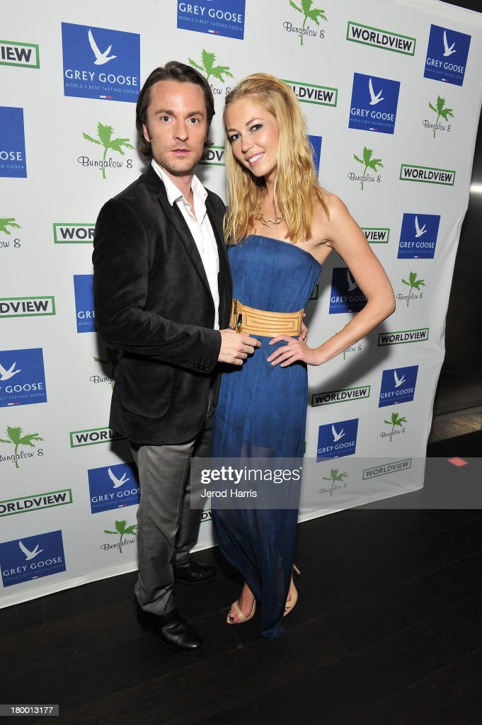 Joshua James and Kseniya Kashina attend the Bungalow 8 and Worldview party during the 2013 Toronto International Film Festival on September 7, 2013 in Toronto, Canada.