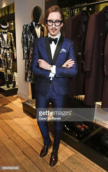 Joshua Kane attends the opening of the Joshua Kane London flagship store on December 21 2016 in London England
