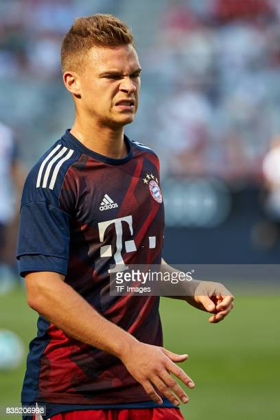 Joshua Kimmich of Bayern Muenchen looks on during the Audi Cup 2017 match between SSC Napoli and FC Bayern Muenchen at Allianz Arena on August 2 2017...