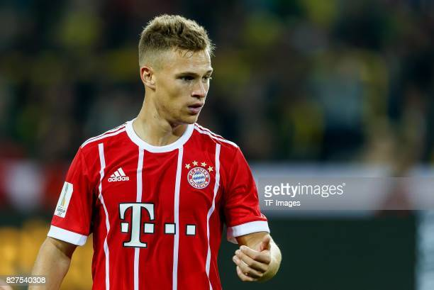 Joshua Kimmich of Bayern Muenchen looks on during the DFL Supercup 2017 match between Borussia Dortmund and Bayern Muenchen at Signal Iduna Park on...