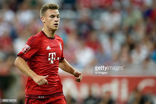 Joshua Kimmich of FC Bayern Munchen during the AUDI Cup match between FC Bayern Munich and AC Milan on August 4 2015 at the Allianz Arena in Munich...