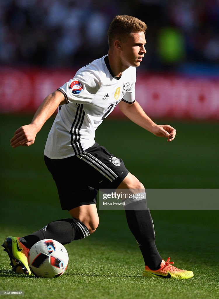 <a gi-track='captionPersonalityLinkClicked' href=/galleries/search?phrase=Joshua+Kimmich&family=editorial&specificpeople=9479434 ng-click='$event.stopPropagation()'>Joshua Kimmich</a> of Germany dives during the UEFA EURO 2016 round of 16 match between Germany and Slovakia at Stade Pierre-Mauroy on June 26, 2016 in Lille, France.
