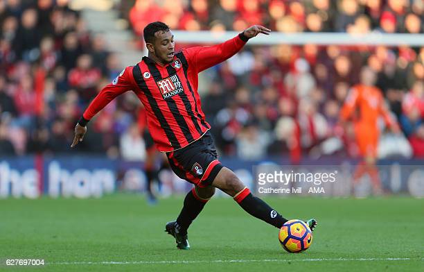 Joshua King of Bournemouth during the Premier League match between AFC Bournemouth and Liverpool at Vitality Stadium on December 4 2016 in...