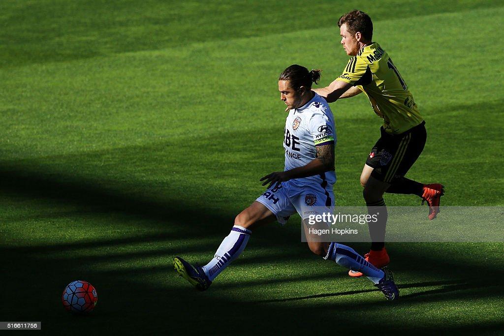 A-League Rd 24 - Wellington v Perth