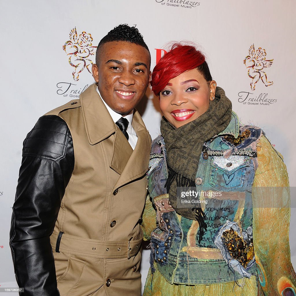 Joshua Rogers and Alexis Spight attend the 14th annual BMI Trailblazers of Gospel Music Awards at Rocketown on January 18, 2013 in Nashville, Tennessee.