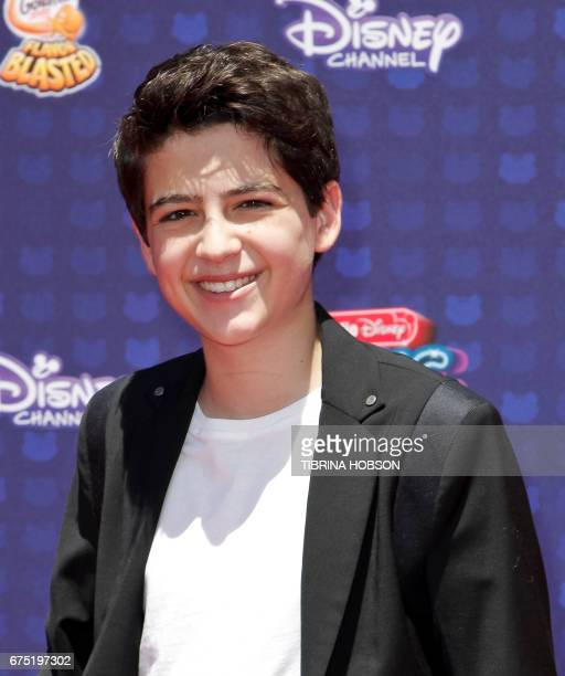 Joshua Rush attends the Radio Disney Music Awards at the Microsoft Theater in Los Angeles California on April 29 2017 / AFP PHOTO / TIBRINA HOBSON