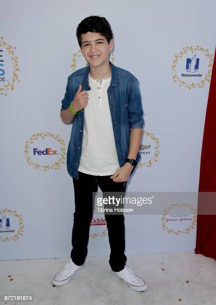 Joshua Rush attends the Safe Kids Day at Smashbox Studios on April 23 2017 in Culver City California