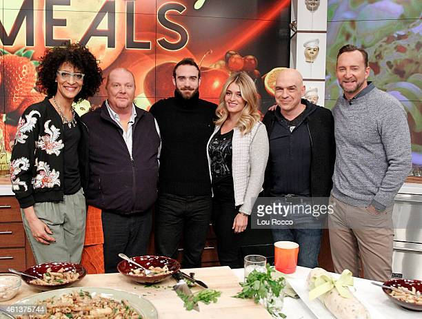 THE CHEW Joshua Sasse is the guest today Thursday January 8 2015 on ABC's 'The Chew' 'The Chew' airs MONDAY FRIDAY on the ABC Television Network