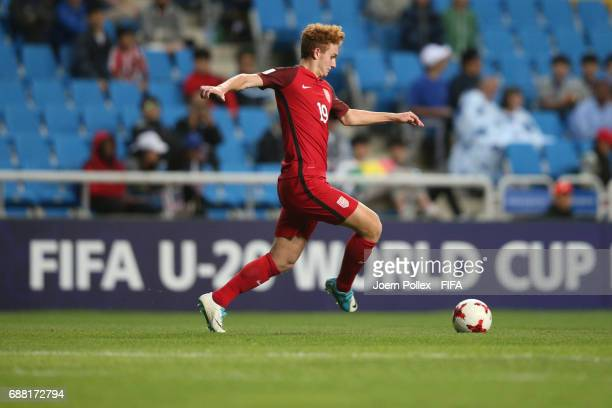 Joshua Sergant of USA controls the ball during the FIFA U20 World Cup Korea Republic 2017 group F match between Senegal and USA at Incheon Munhak...