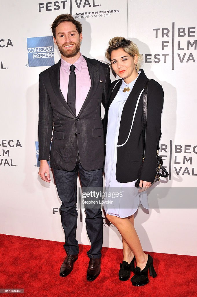 Joshua Skurla and Monique Argalji attend the 'Sunlight Jr.' World Premiere during the 2013 Tribeca Film Festival on April 20, 2013 in New York City.
