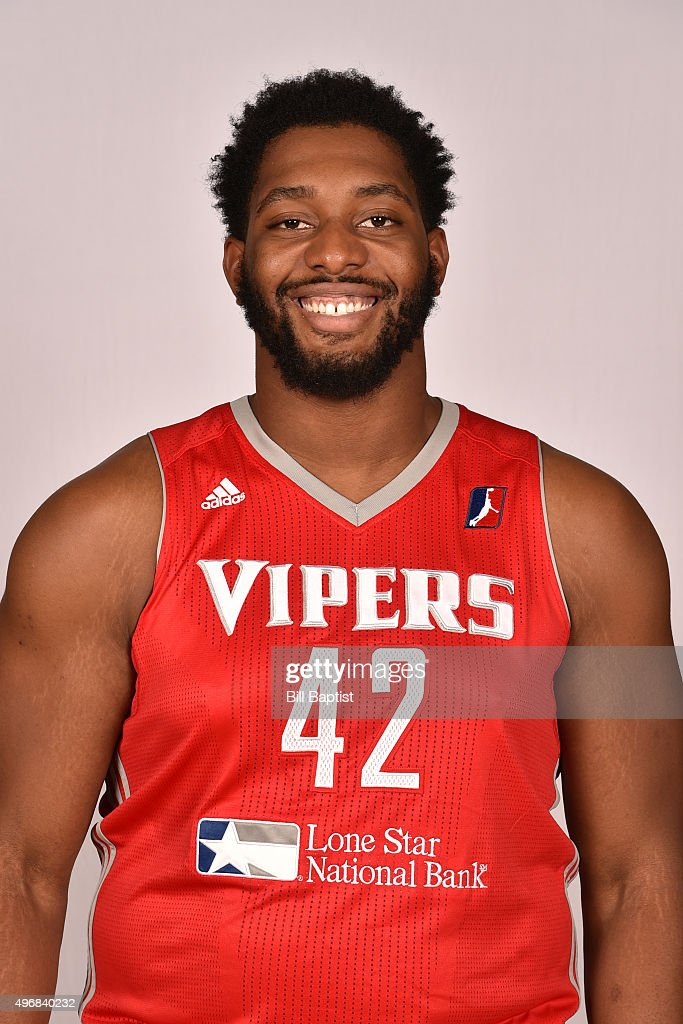 Joshua Smith #42 of the Rio Grande Valley Vipers poses for a head shot during media day on November 10, 2015 State Farm Arena in Hidalgo, Texas.