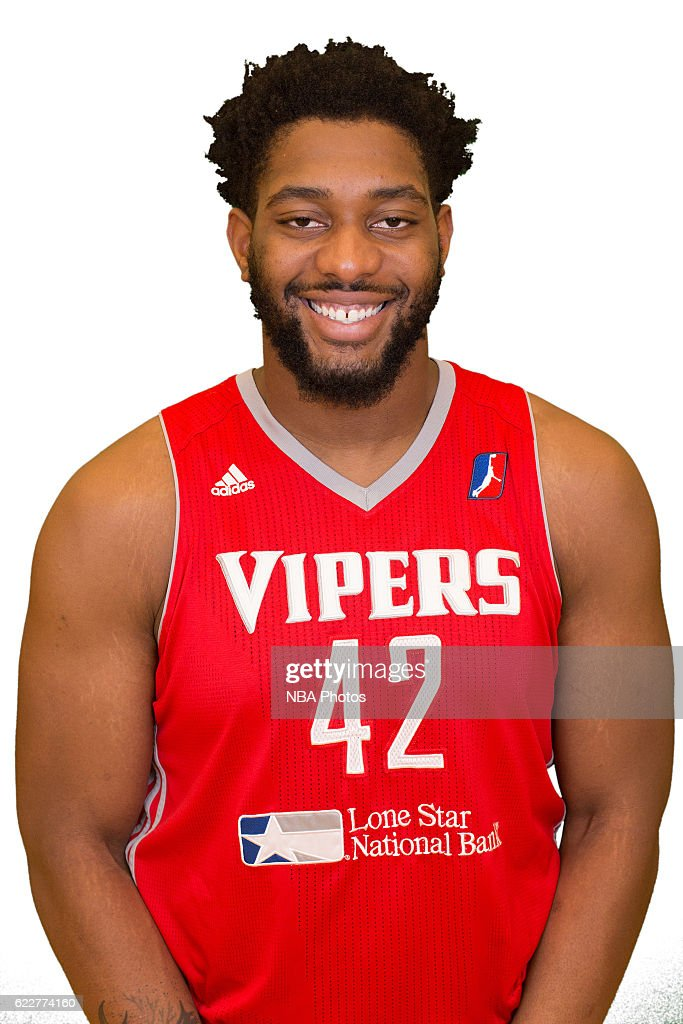 Joshua Smith #42 of the Rio Grande Valley Vipers poses for a head shot during NBA D-League media day on November 10, 2016 State Farm Arena in Hidalgo, Texas.
