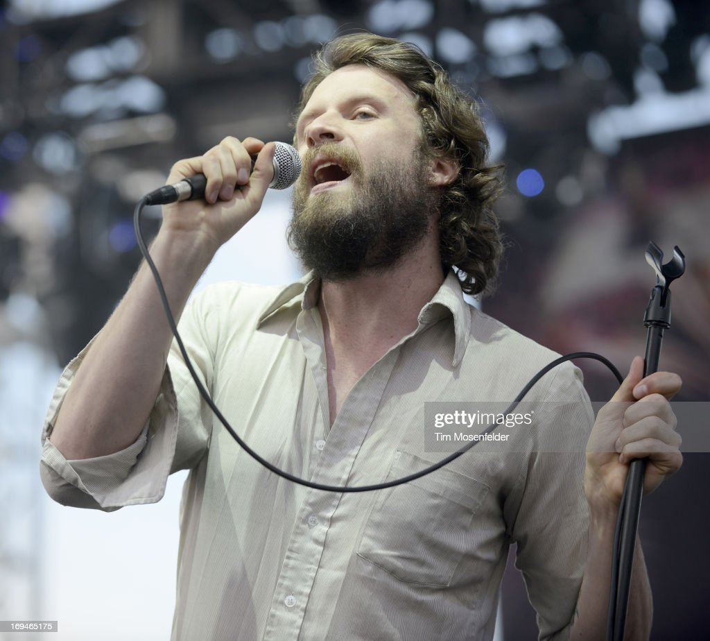 <a gi-track='captionPersonalityLinkClicked' href=/galleries/search?phrase=Joshua+Tillman&family=editorial&specificpeople=5944767 ng-click='$event.stopPropagation()'>Joshua Tillman</a> aka Father John Misty performs as part of the Day 1 of the Sasquatch! Music Festival at the Gorge Amphitheatre on May 24, 2013 in George, Washington.
