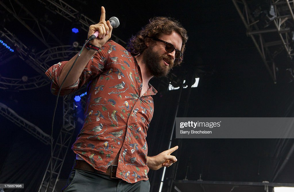 <a gi-track='captionPersonalityLinkClicked' href=/galleries/search?phrase=Joshua+Tillman&family=editorial&specificpeople=5944767 ng-click='$event.stopPropagation()'>Joshua Tillman</a> aka Father John Misty performs during Lollapalooza 2013 at Grant Park on August 2, 2013 in Chicago, Illinois.