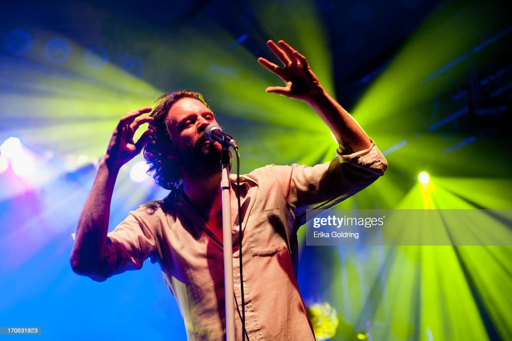 <a gi-track='captionPersonalityLinkClicked' href=/galleries/search?phrase=Joshua+Tillman&family=editorial&specificpeople=5944767 ng-click='$event.stopPropagation()'>Joshua Tillman</a> aka Father John Misty performs during the 2013 Bonnaroo Music & Arts Festival on June 13, 2013 in Manchester, Tennessee.