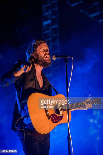 Joshua Tillman of Father John Misty performs on stage at Coachella Festival at The Empire Polo Club on April 11 2015 in Indio United States