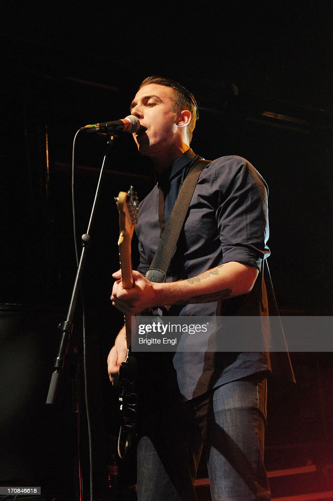 Joshua Waters of The Skints perform on stage at KOKO on May 22, 2013 in London, England.