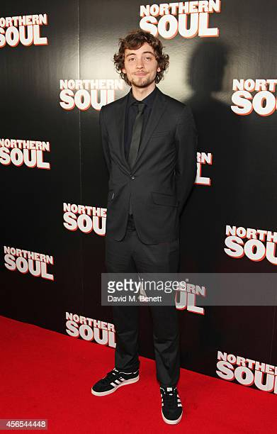 Joshua Whitehouse attends a Gala Screening of 'Northern Soul' at the Curzon Soho on October 2 2014 in London England
