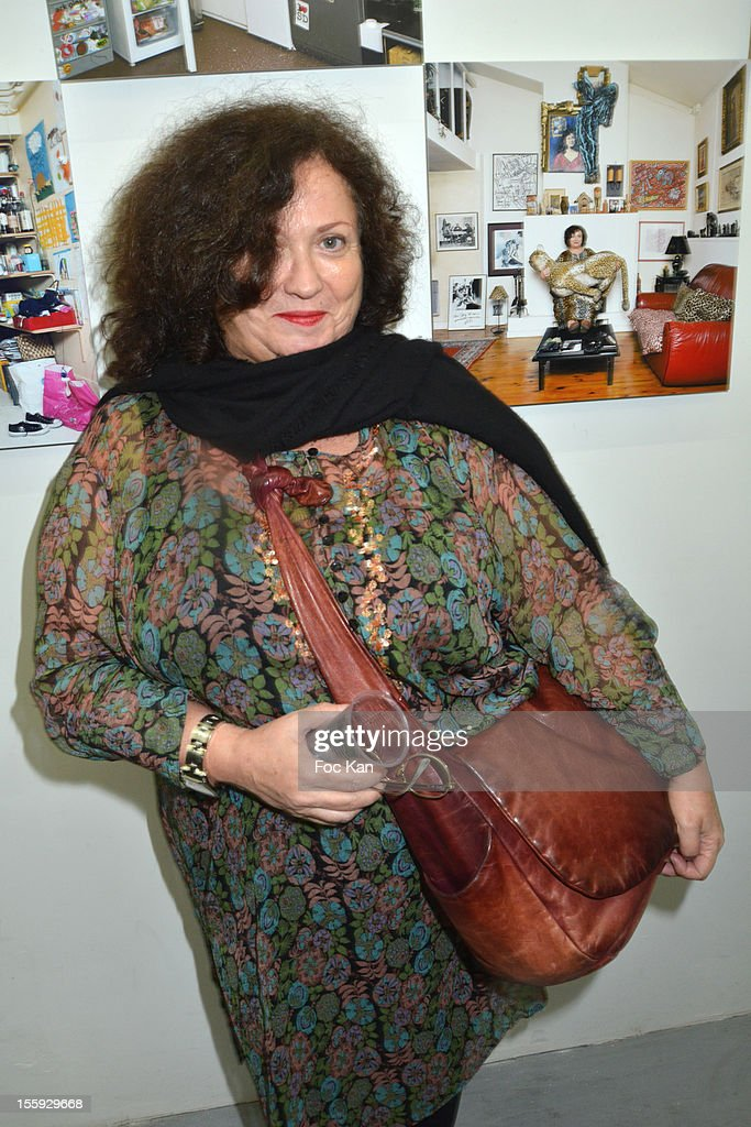 Josiane Foichat attends 'Les Parisiennes' - Photo Exhibition Preview at Galerie Clementine De La Feronniere on November 8, 2012 in Paris, France.