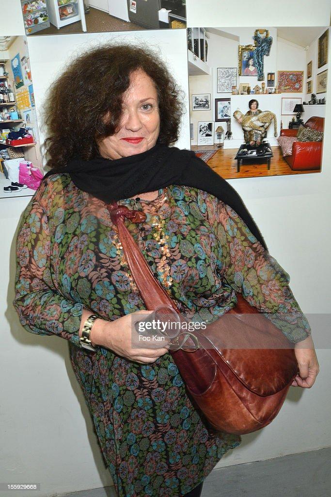 Josiane Foichat attends 'Les Parisiennes' - Photo Exhibition Preview at Galerie Clementine De La Feronniere on November 8, 2012 in Paris, France.