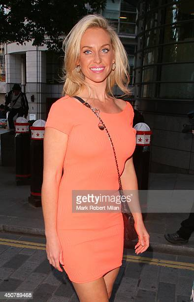 Josie Gibson attending the Now Magazine Summer Party at Kanaloa on June 17 2014 in London England