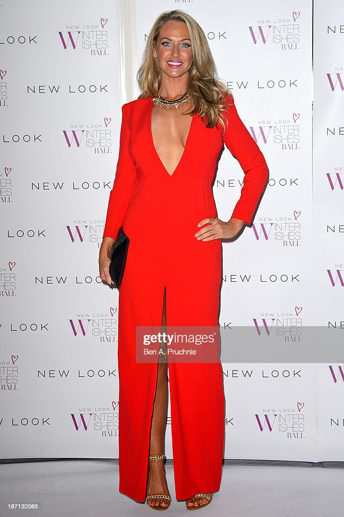 <a gi-track='captionPersonalityLinkClicked' href=/galleries/search?phrase=Josie+Gibson&family=editorial&specificpeople=7045607 ng-click='$event.stopPropagation()'>Josie Gibson</a> attends the New Look Winter Wishes Charity Ball at Battersea Evolution on November 6, 2013 in London, England.