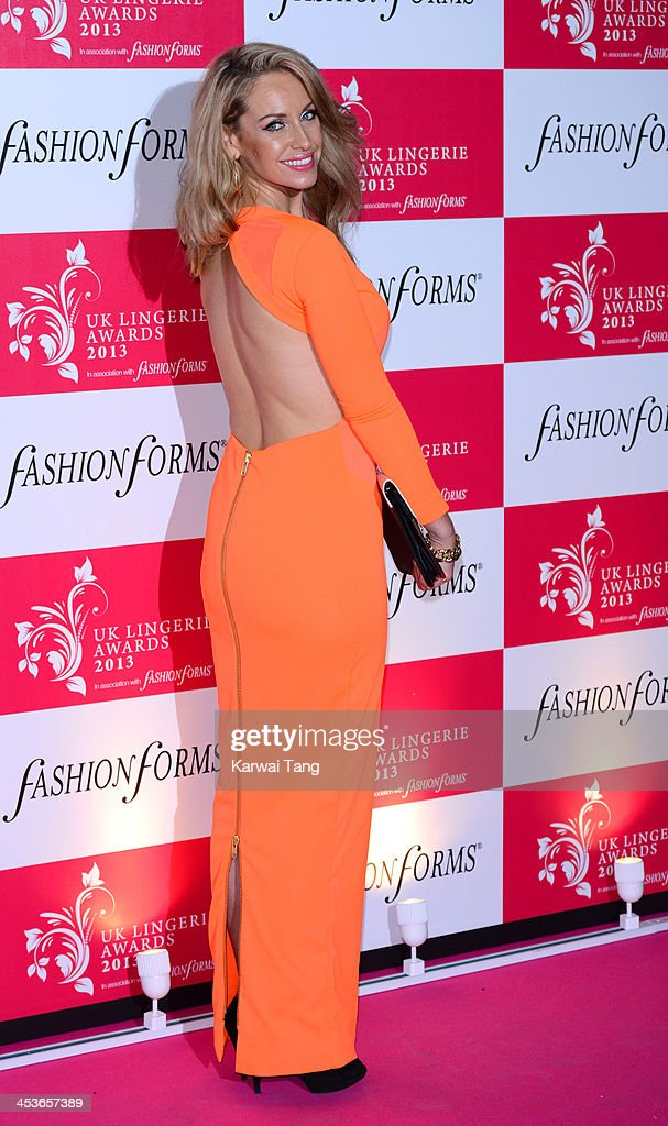 <a gi-track='captionPersonalityLinkClicked' href=/galleries/search?phrase=Josie+Gibson&family=editorial&specificpeople=7045607 ng-click='$event.stopPropagation()'>Josie Gibson</a> attends the UK Lingerie Awards held at the Freemasons Hall on December 4, 2013 in London, England.