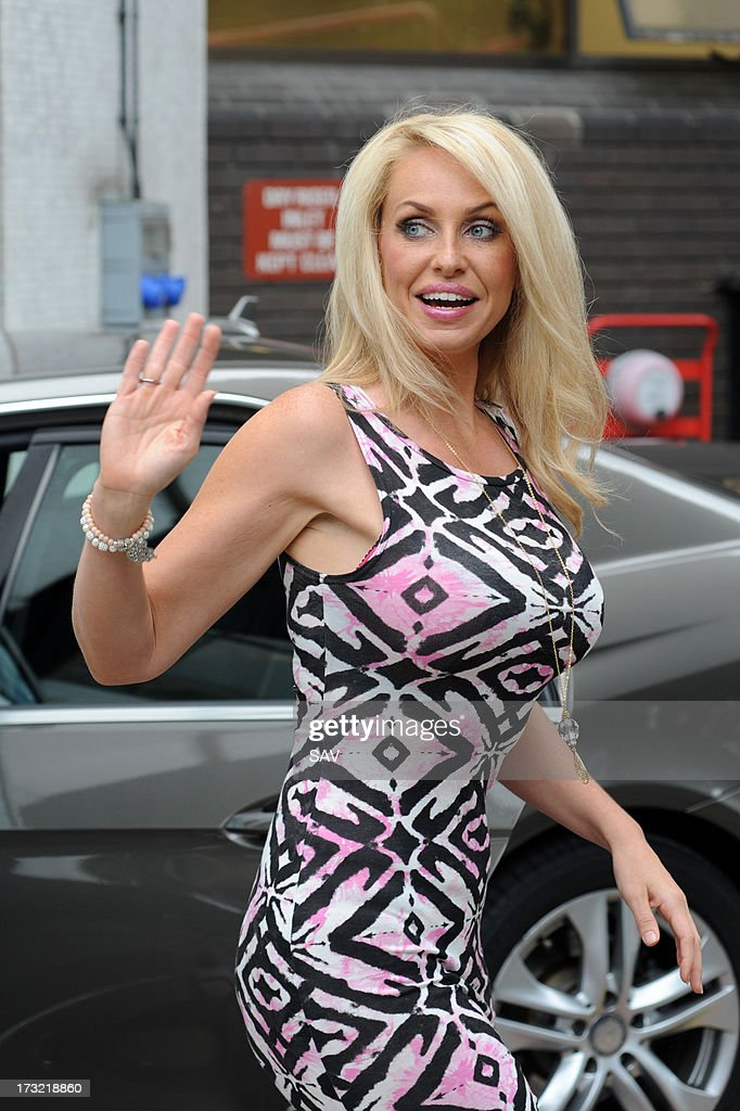 <a gi-track='captionPersonalityLinkClicked' href=/galleries/search?phrase=Josie+Gibson&family=editorial&specificpeople=7045607 ng-click='$event.stopPropagation()'>Josie Gibson</a> pictured outside the ITV studios on July 10, 2013 in London, England.