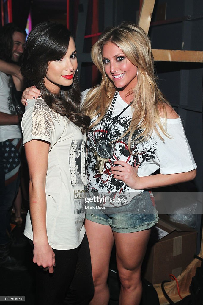 Josie Loren (L) and Cassie Scerbo attend the 19th Annual Race to Erase MS held at the Hyatt Regency Century Plaza on May 18, 2012 in Century City, California
