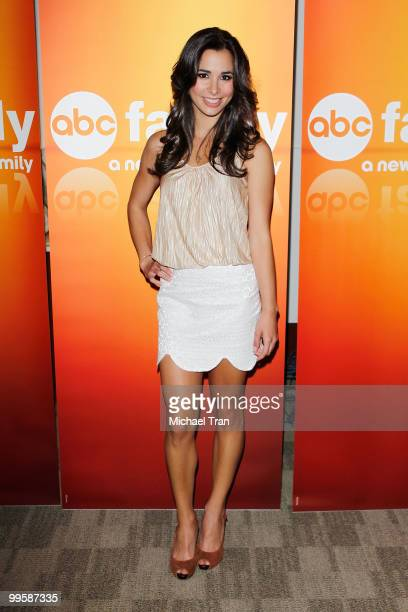 Josie Loren arrives to the Disney/ABC Television Group press junket held at the ABC Television Network Building on May 15 2010 in Burbank California
