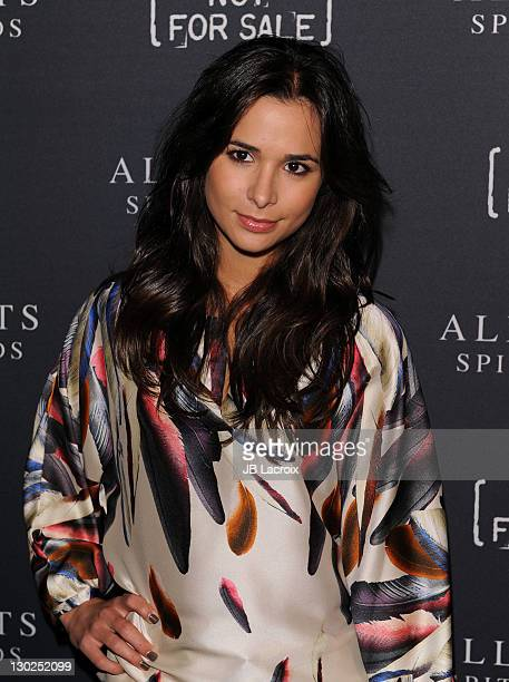 Josie Loren attends the AllSaints Spitalfields Launch Party For The Capsule Not For Sale TShirt Collection held at The Music Box @ Fonda on October...