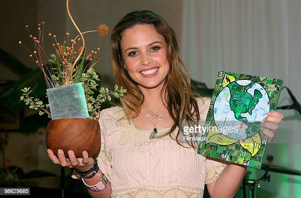 Josie Maran attends Green Lounge Eco Luxury Experience Earth Day Awards Presented By Lexus Santa Monica on April 22 2010 in Santa Monica California