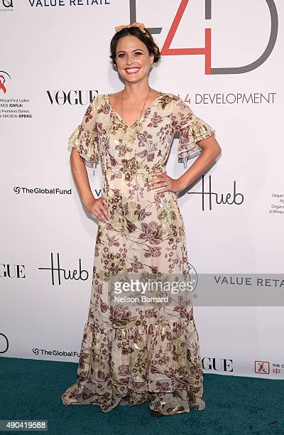 Josie Maran attends the Fashion 4 Development's 5th annual Official First Ladies luncheon at The Pierre Hotel on September 28 2015 in New York City