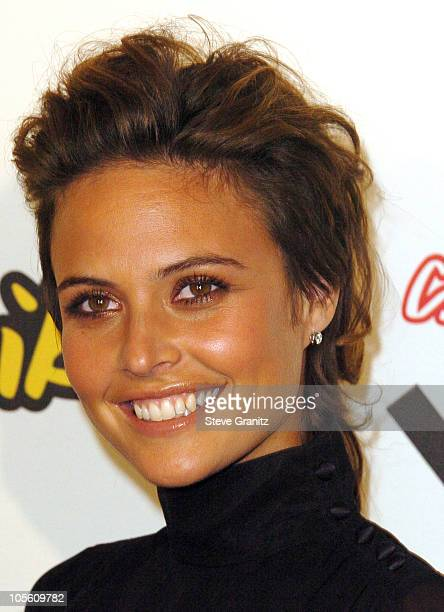 Josie Maran during 2005 Spike TV Video Game Awards Arrivals at Gibson Amphitheater in Universal City California United States