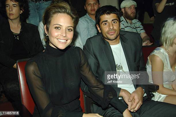 Josie Maran during 2005 Spike TV Video Game Awards Backstage and Audience at Gibson Amphitheater in Universal City California United States