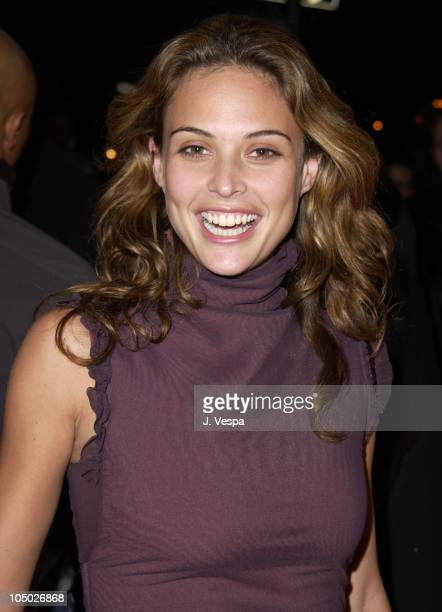 Josie Maran during 8th Annual Victoria's Secret Fashion Show Arrivals at The New York State Armory in New York City New York United States