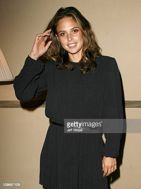 Josie Maran during Fred Segal Beauty Smashbox Artists Dinner at Il Sole in West Hollywood California United States