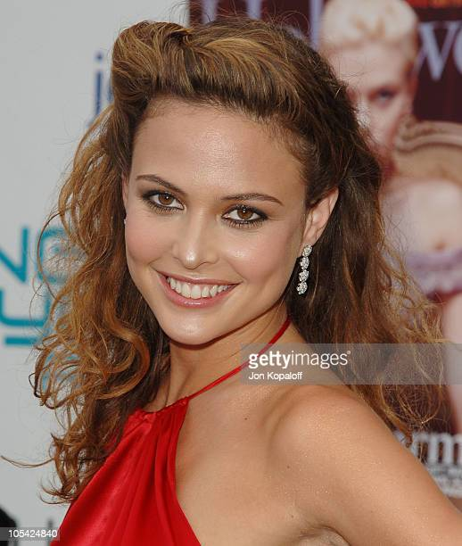 Josie Maran during Movieline's Hollywood Life 7th Annual Young Hollywood Awards Arrivals at Music Box at The Fonda in Hollywood California United...