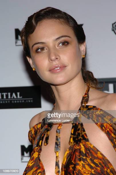 Josie Maran during The Aviator New York City Premiere Outside Arrivals at Ziegfeld Theatre in New York City New York United States