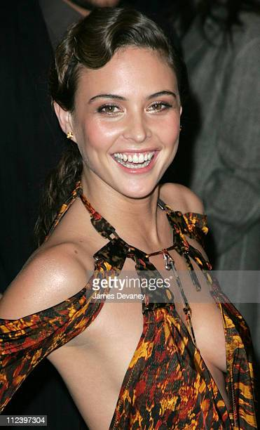Josie Maran during 'The Aviator' New York City Premiere Outside Arrivals at Ziegfeld Theater in New York City New York United States